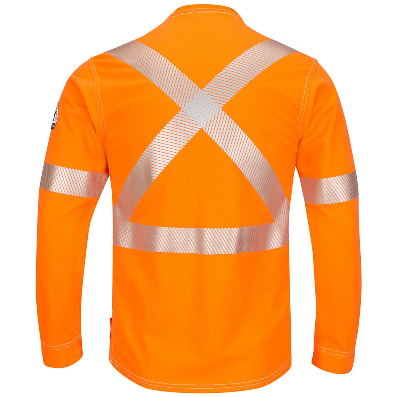 62a87fc01b7 Bulwark FR X-Back iQ Series Comfort Knit Long Sleeve T-Shirt QT34 Back
