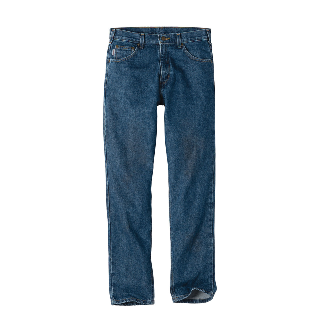 cb5e667c Carhartt Tapered Leg Jeans Relaxed Fit B17 Darkstone Front