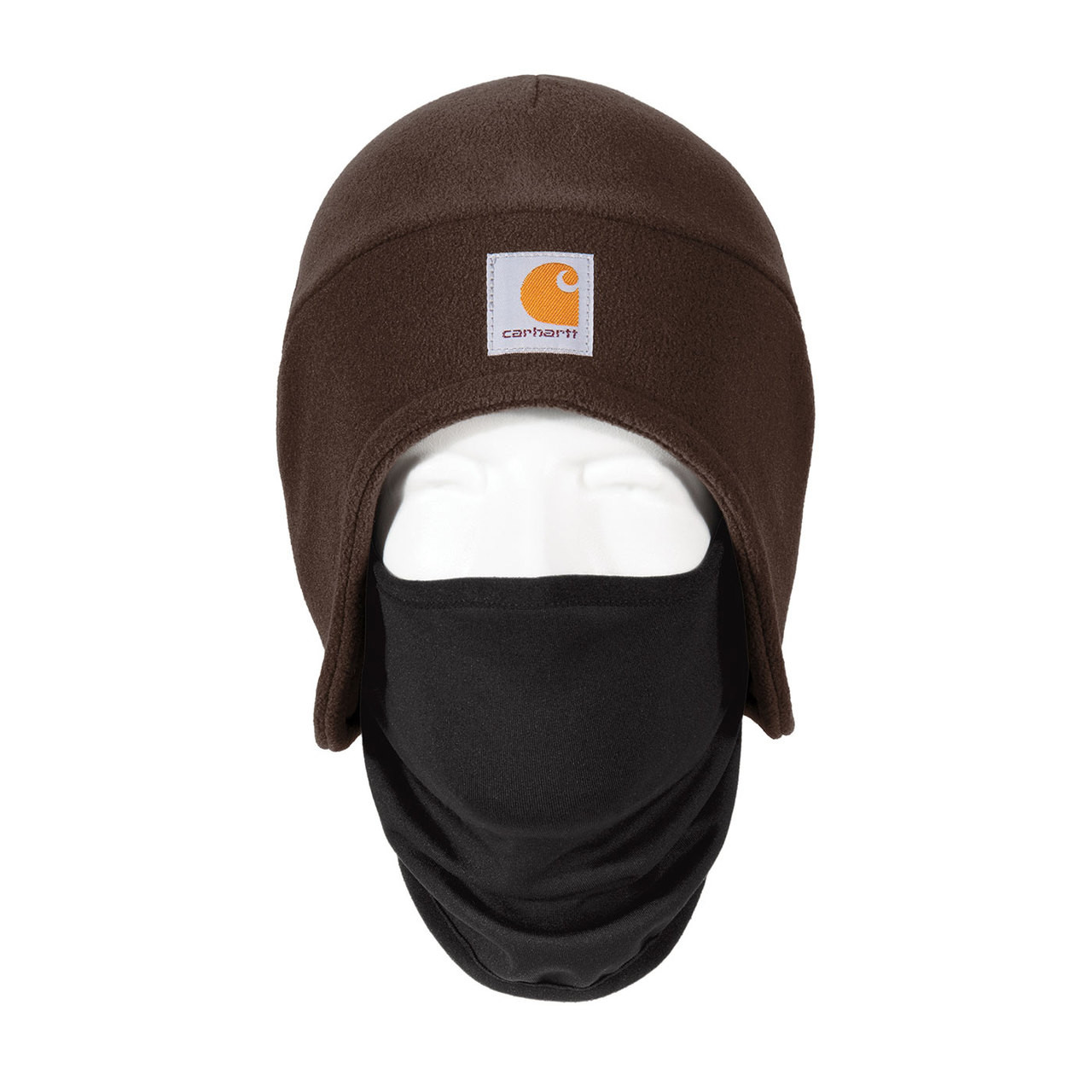 3d1ca0c4c5a60 Carhartt 2 in 1 Cold Weather Hat A202 Dark Brown Front