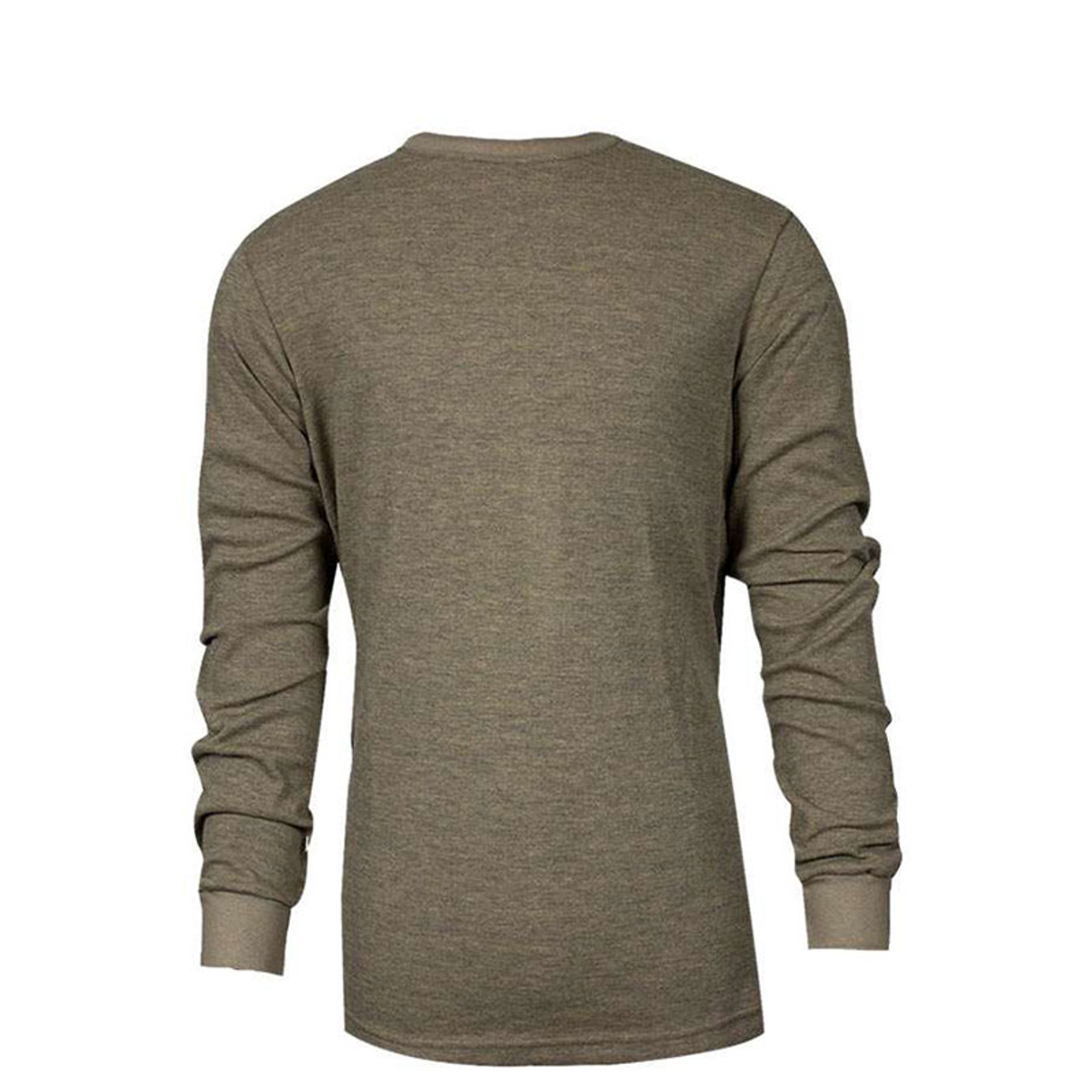b8d8ef92d388 TECGEN FR Select Moisture Wicking Long SleeveTan T-Shirt C541NTNLS