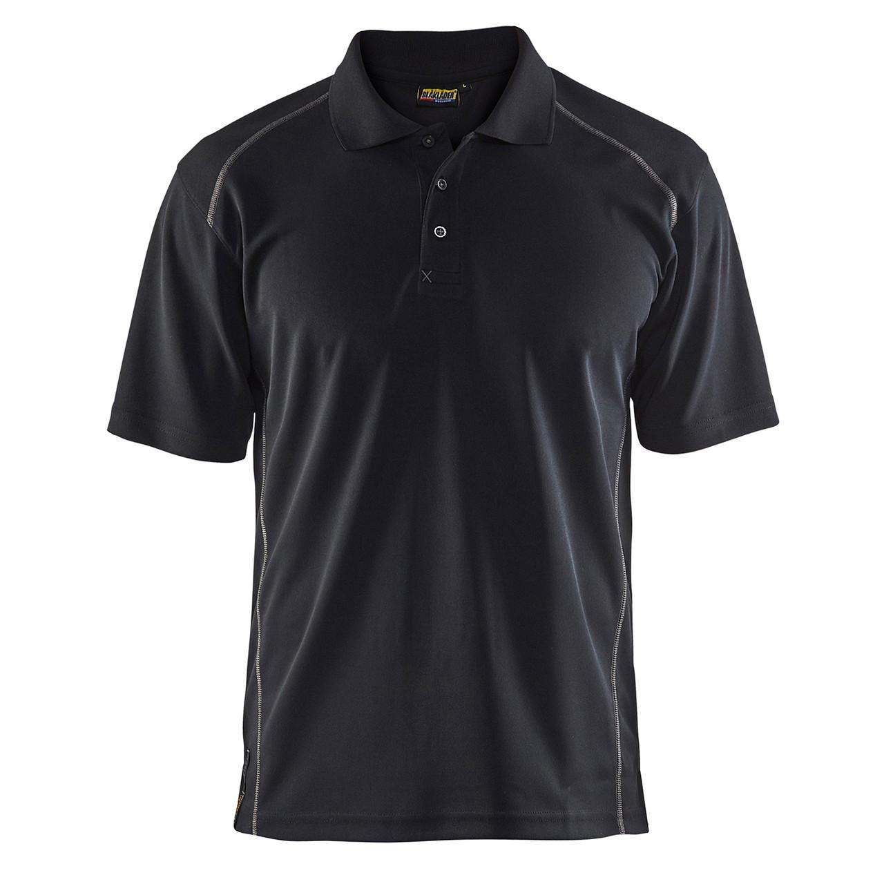 Blaklader Workwear Poloshirt Black//Dark Grey