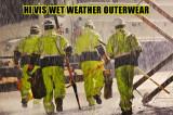 Hi Vis Rain Gear for Emergency Weather Events