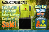 Radians Hi Vis Savings