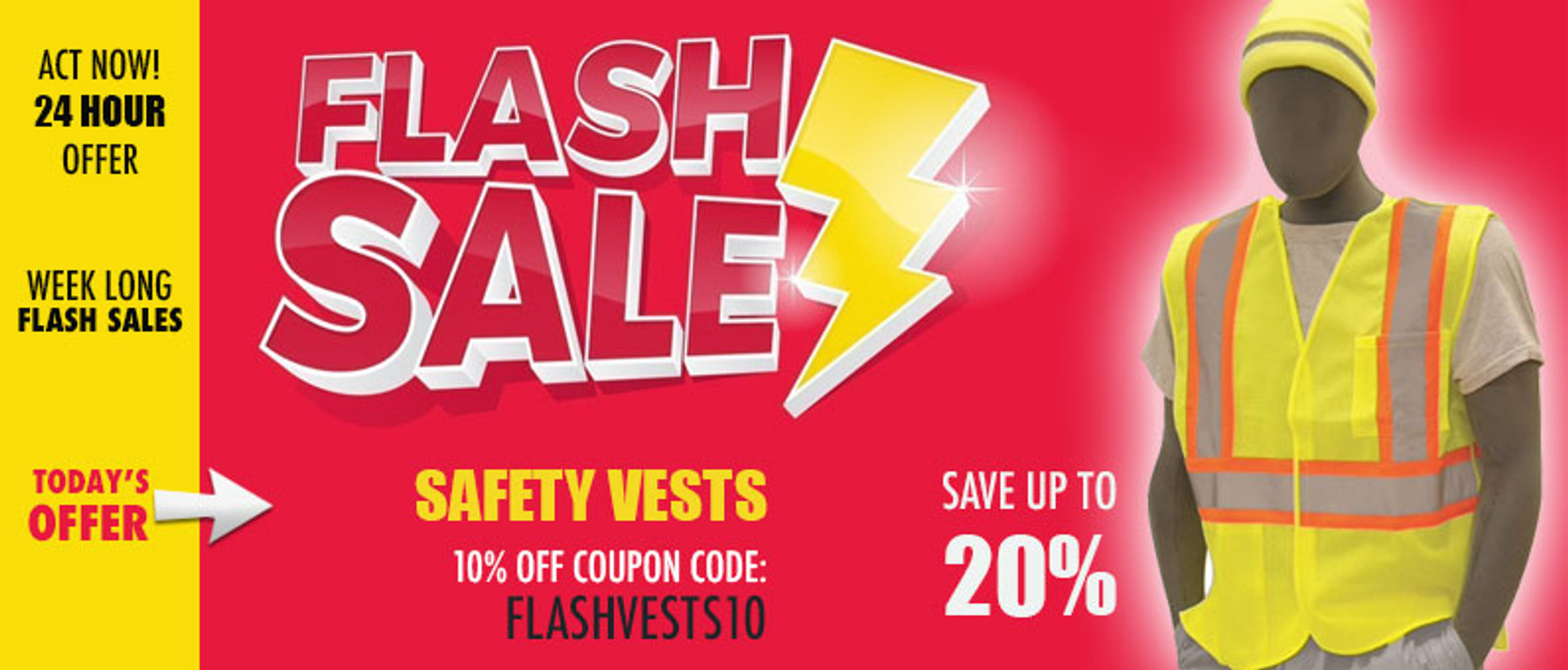 Safety Vests Sale
