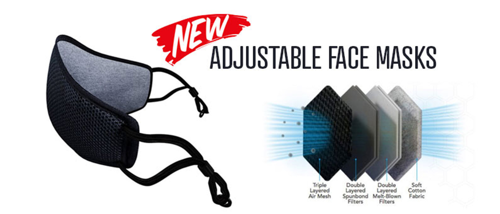 Adjustable Face Masks