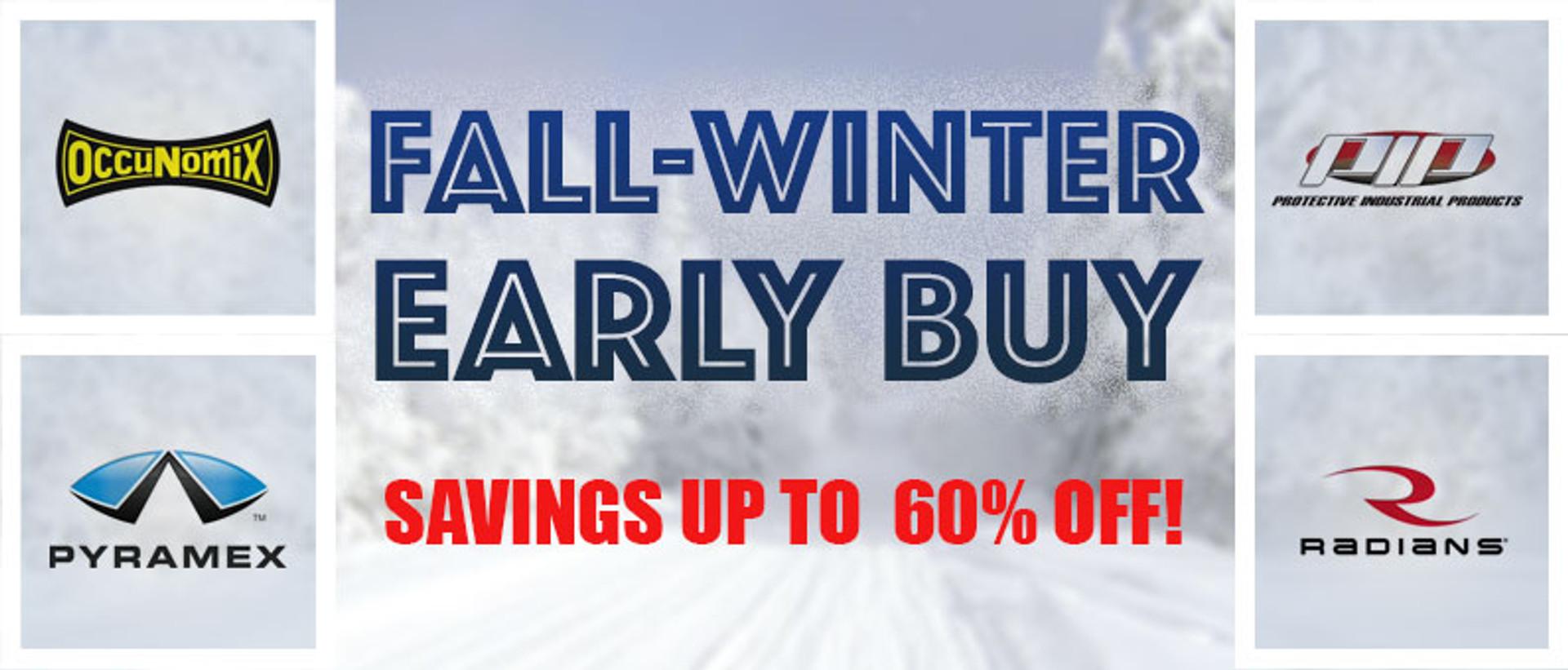 Fall-Winter Early Buy