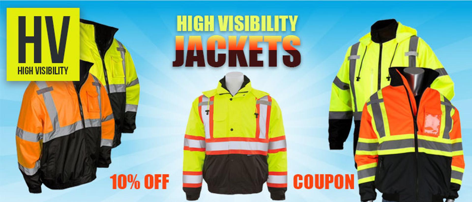 Hi Vis Jackets Coupon Offer