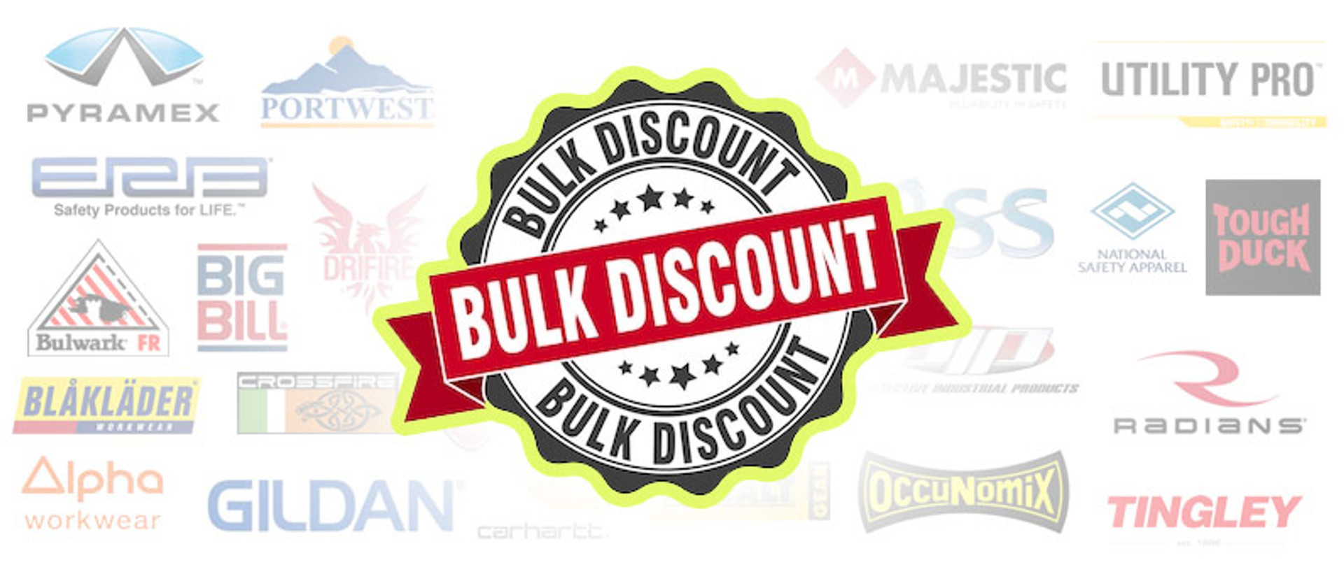Bulk Discount on Safety Clothing and Gear