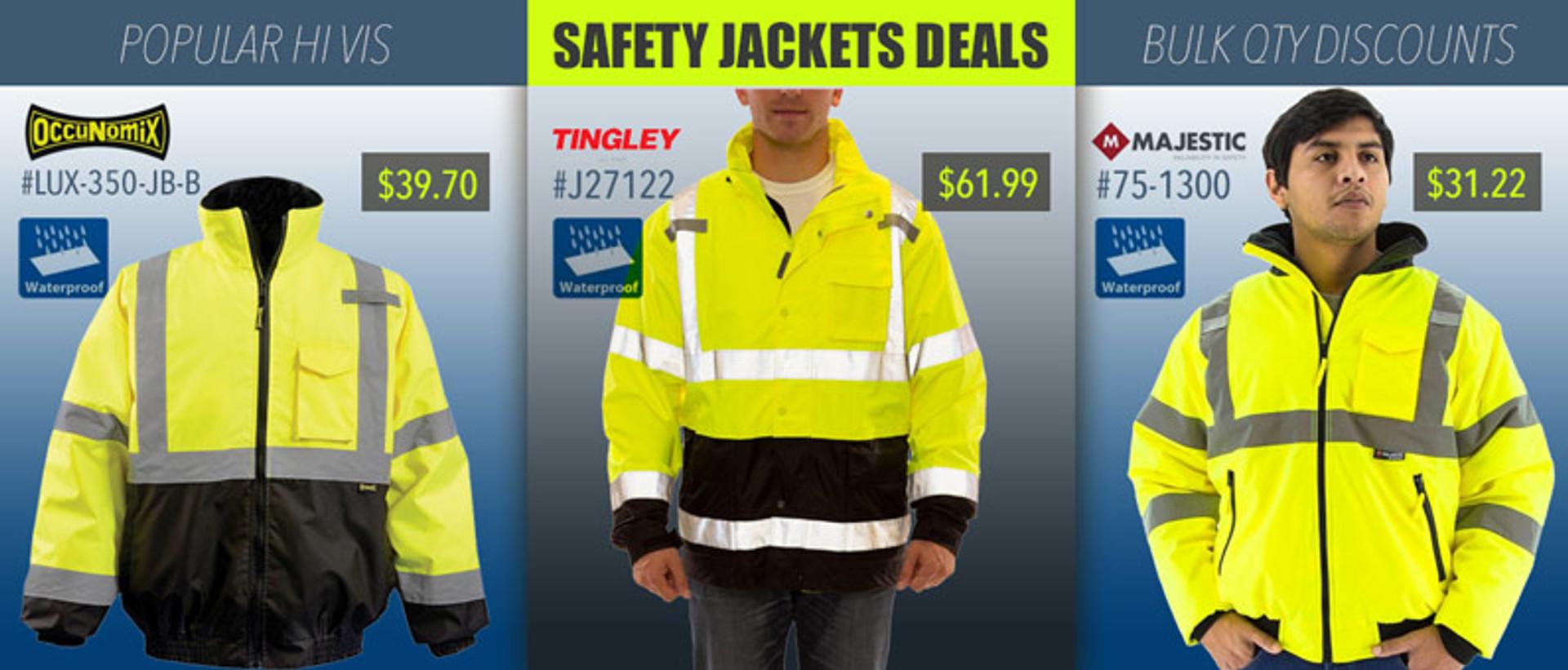 Safety Jackets - Hi Vis Deals