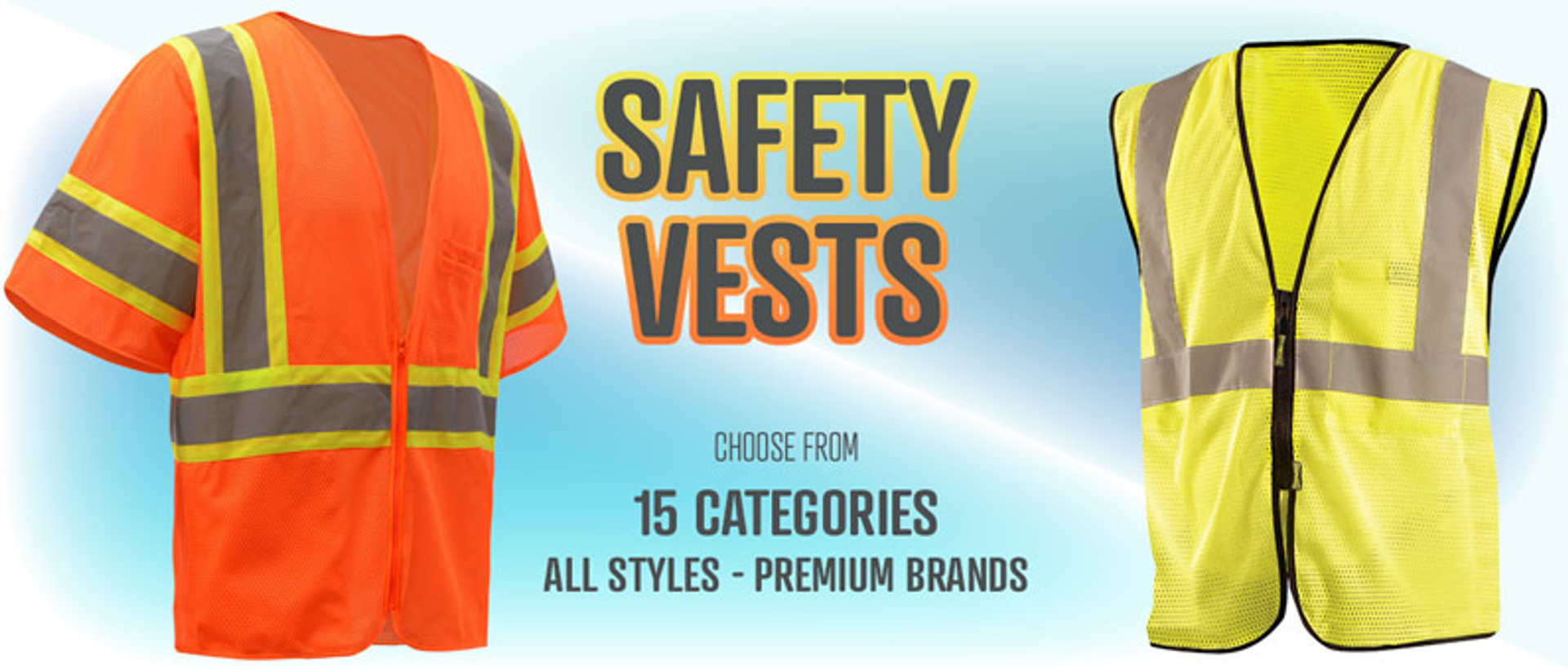 Safety Vests - 15 Categories of Styles