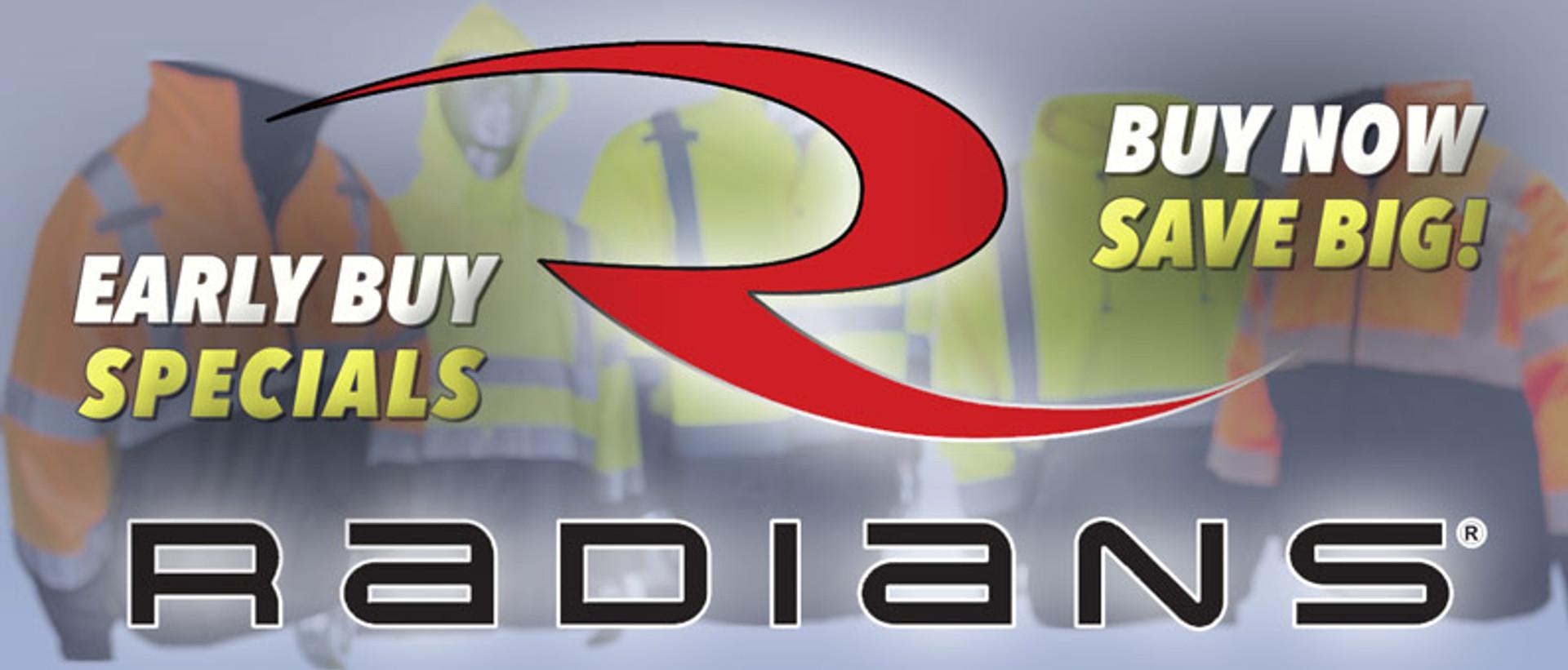 Radians Early Buy Sale