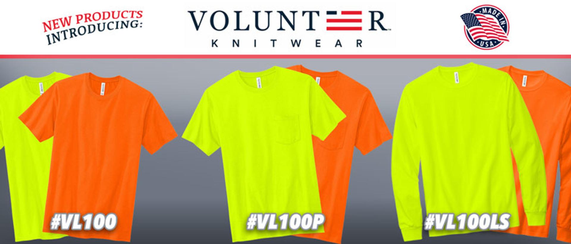 Volunteer Knitwear Products