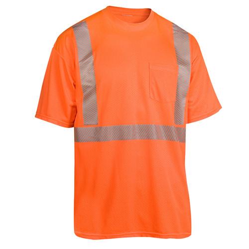 Radians Class 2 Hi Vis Orange Moisture Wicking T-Shirt HV-XTS-AR-P