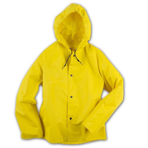 Neese 35AJ Yellow Industrial Rain Jacket with Hood 35001-00