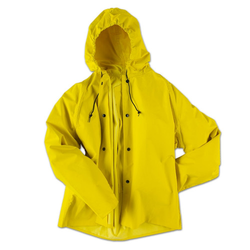Neese ASTM F903 Magnum 45AJ Yellow Industrial Rain Jacket 45001-00 Front