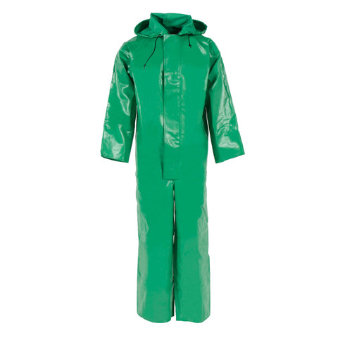 Neese ASTM F903 Chem Shield 96ACA Splash Coveralls With Attached Hood 96001-50 Front