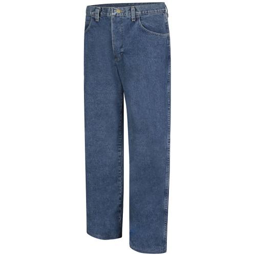 Bulwark FR 14.75 oz. Excel Stone Washed Denim Jeans PEJ6SW Front