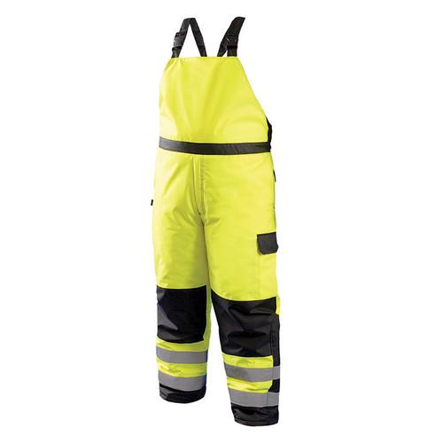 Occunomix Class E Hi Vis Cold Weather Bib Pants LUX-WBIB Front