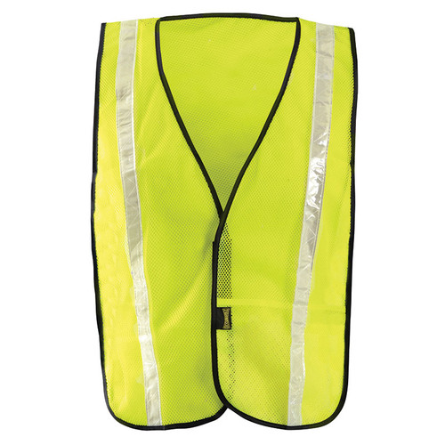 Occunomix Non ANSI Hi Vis Mesh Vest Gloss Reflective LUX-XGTM Yellow