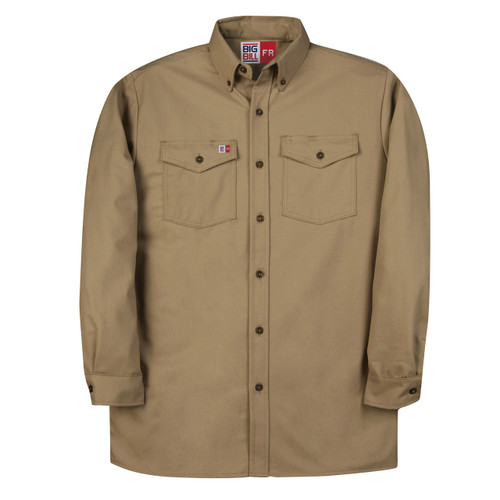 FR Work Shirt UltraSoft 7 oz. 147BDUS7 Khaki