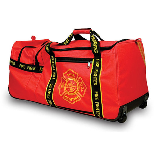 OK-1 3001 Wheeled Fire Fighter Gear Bag - Printed (6565001)