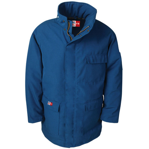 Big Bill FR UltraSoft 7 oz. Winter Parka M300US7 Royal Blue
