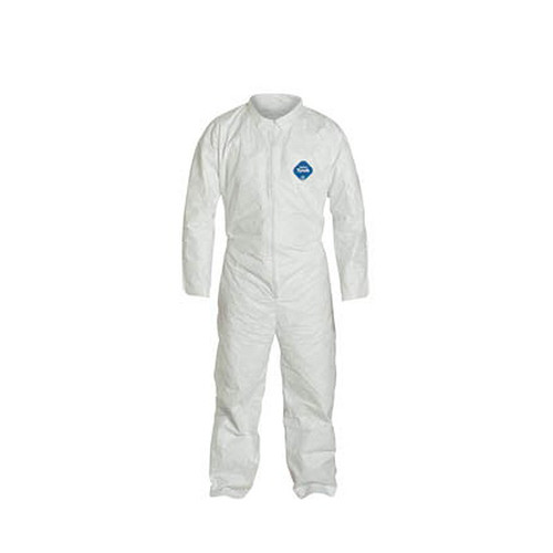 Sunrise Case of 25 Dupont Tyvek Coveralls with Zipper Front TY120-S-WH