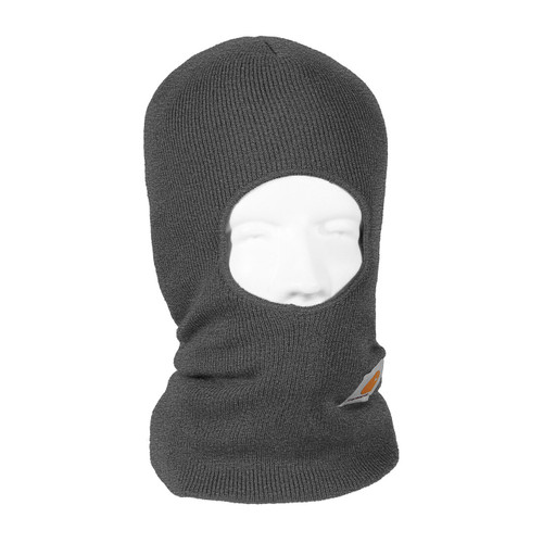 899e54dee2834 ... Black Back · Carhartt Face Mask Cold Weather Headwear A161 Charcoal  Heather Right Side ...