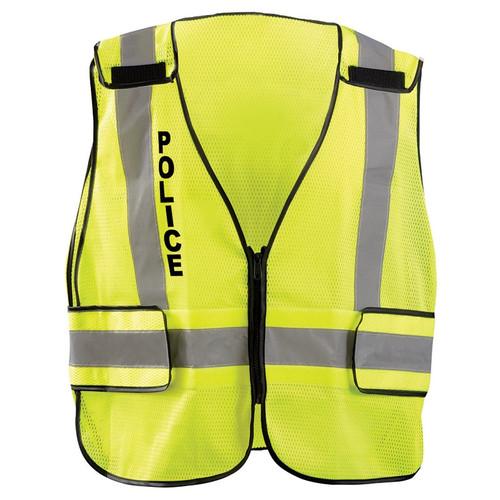 Occunomix Class 2 Police Public Safety DOR Mesh Vest LUX-PSP-DOR Front