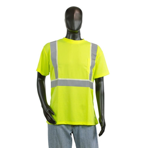 Alpha Workwear Illuminated T-Shirt Glow in Dark A264 Front
