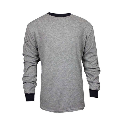 TECGEN FR Select Moisture Wicking Long Sleeve Grey T-Shirt C541NGELS