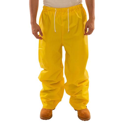 Tingley ASTM D6413 Industrial Yellow DuraScrim Rain Pants P56007 Front