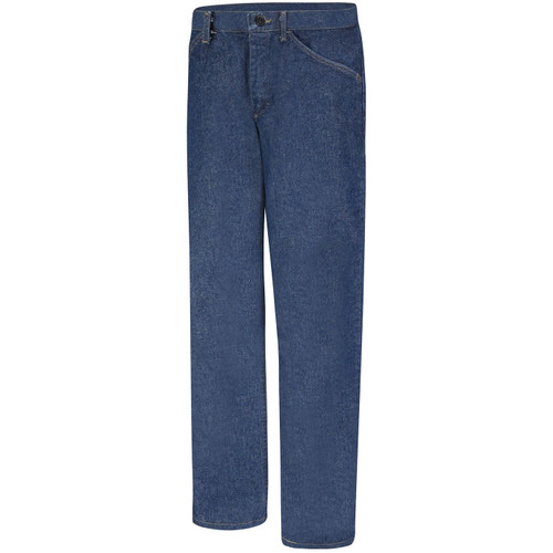 Bulwark Womens FR Pre-Washed Denim Jeans PEJ3DW Front