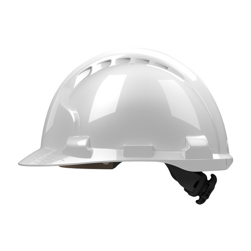 PIP Class E MK8 Evolution Type II Hard Hat with HDPE Shell 280-AHS150 Side Profile