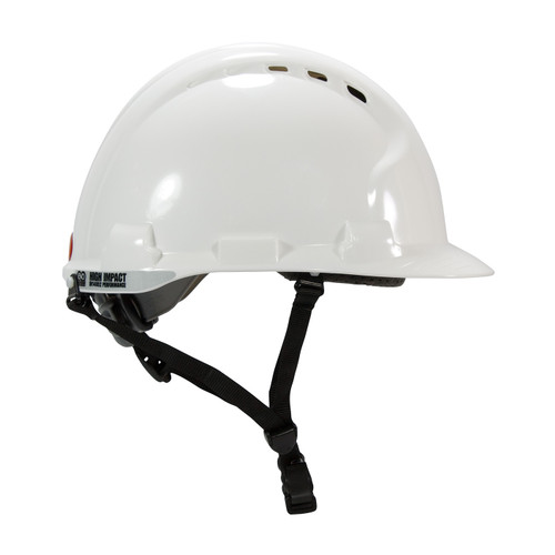 PIP Class C MK8 Evolution Vented Type II Linesman Hard Hat 280-AHS240V Right Profile