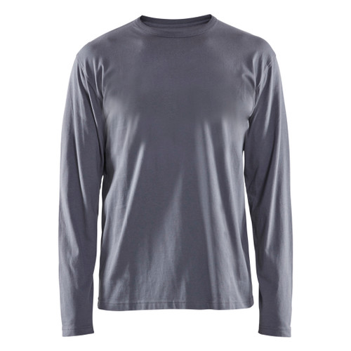 Blaklader Grey Long Sleeve T-Shirt 355910429400 Front