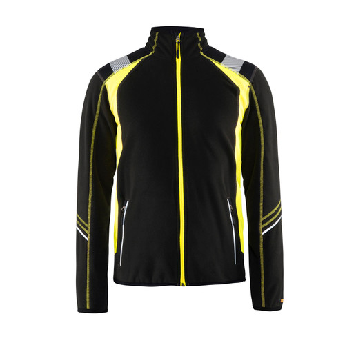 Blaklader Micro Fleece Jacket 499410109933 Front