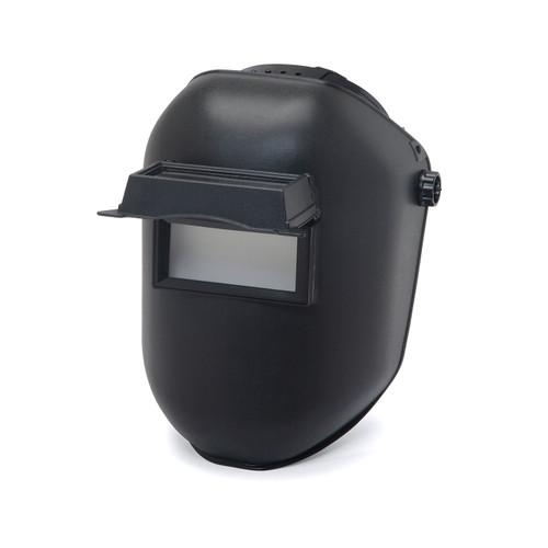 Pyramex Leadhead Black Passive Welding Helmet WHP100 Open