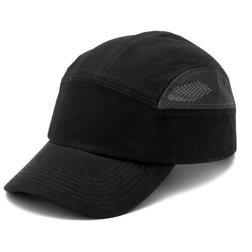 Box of 12 Pyramex Black and Gray Baseball Bump Caps HP50011 Side