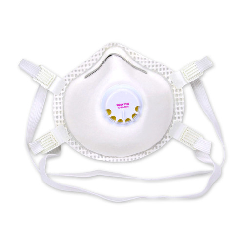 Case of 24 Safety Works P100 Particulate Disposable Respirator Masks SWX00399 Mask
