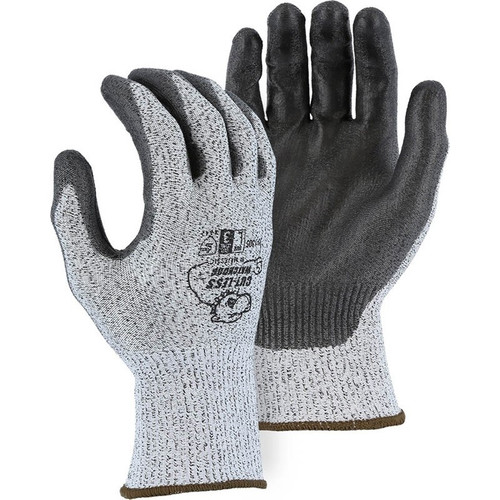 Majestic Case of 120 Pair Cut Level A2 Gray WatchDog Knit Gloves 35-1305