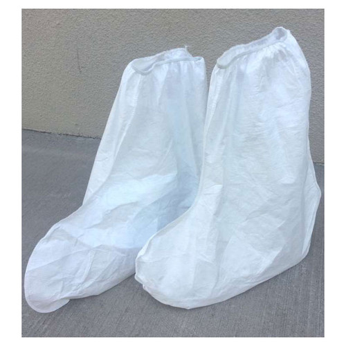 Case of 100 Pair Sunrise Suntech White Boot Covers SMP454SWH