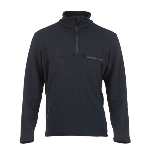 DragonWear FR Elements Dual Hazard Navy Sweatshirt DFM21DH