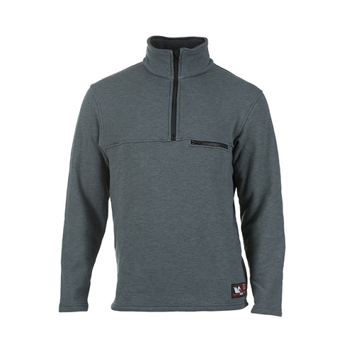 DragonWear FR Elements Dual Hazard Gray Sweatshirt DFM23DH