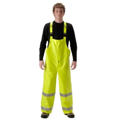 NASCO FR Class E Hi Vis ArcLite High Visibility Bib Rain Pants 1501TF