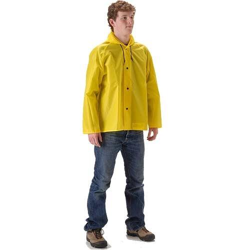 NASCO ASTM D6413 WorkLite Waist Length Rain Jacket 81JY