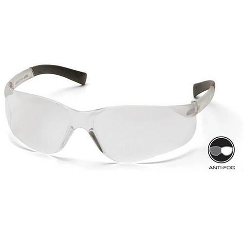 Box of 12 Pyramex Mini Ztek Anti Fog Clear Lens Safety Glasses S2510SNT