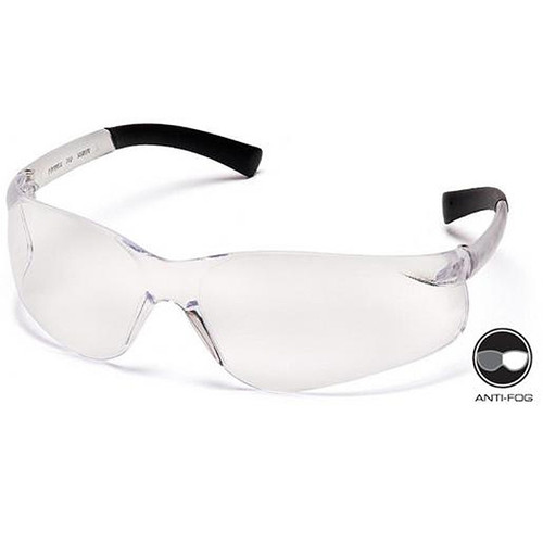 Box of 12 Pyramex Ztek Anti Fog Clear Lens Safety Glasses S2510ST