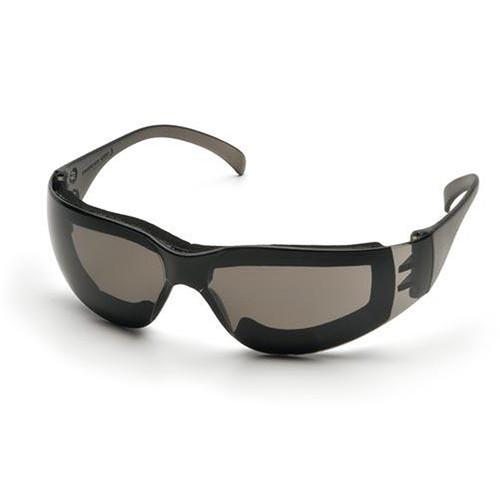 Pyramex Intruder Safety Glasses Gray Anti Fog Padded Lens S4120STFP