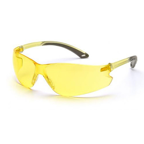 Pyramex Intruder Safety Glasses Amber Lens S4130S